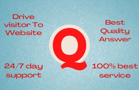 Guaranteed Targeted Traffic for 20 High-Quality Quora backlinks