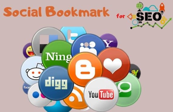 I will 100 Social Bookmarks for SEO on high DA site