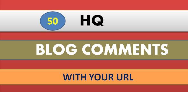 I Will Do Manually 50 Doflow Blog comment Backlinks