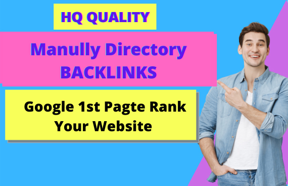 I will Promote 100 Niche Relevant Directory Backlinks for your website
