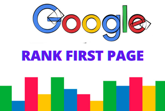 I will do SEO for google first page ranking your website