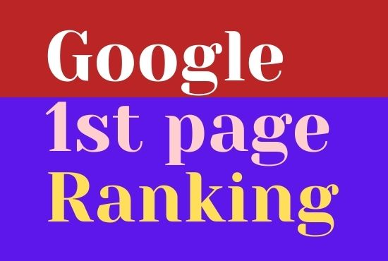 I will Promote Guaranteed rank your website on google 1st page