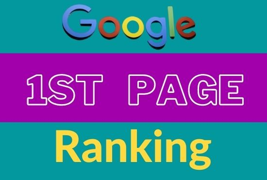 I will guaranteed rank your website on google 1st page ranking