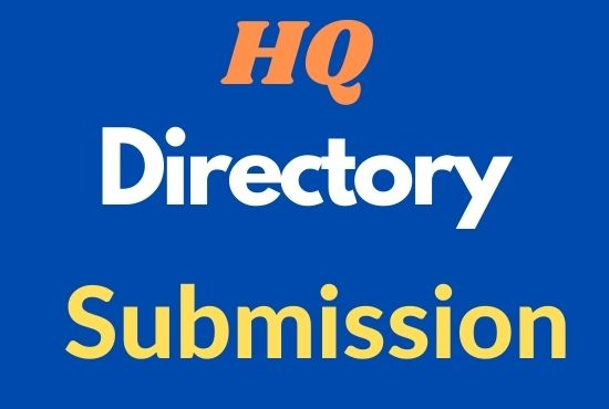 I will do manually 100 high quality directory submissions