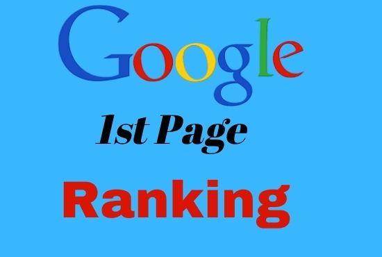 I will offer guaranteed rank your website on google 1st page ranking