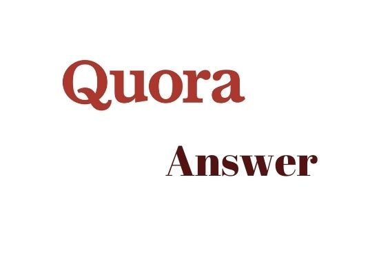 I will provide 10 high quality Quora Answer with your keywords & url
