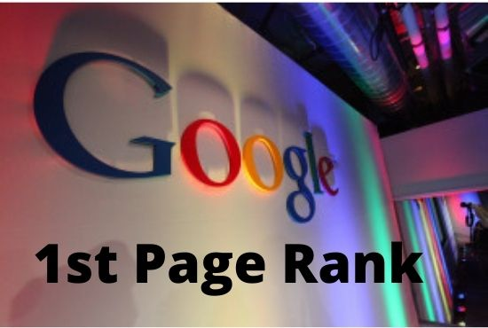 I will give complete 1st page ranking on google