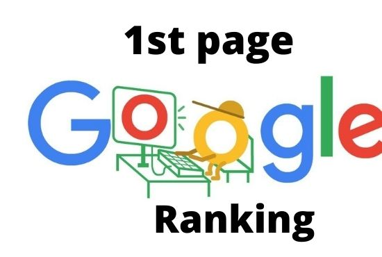 I will do complete off page for 1st page ranking on google