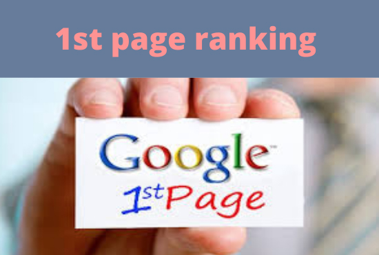 I will do 100 google top ranking for manual white hat backlink