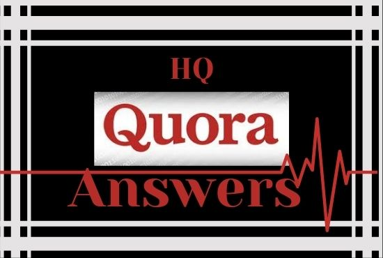 I will Provide Niche Relevant 10 Quora Answer for targeted traffic