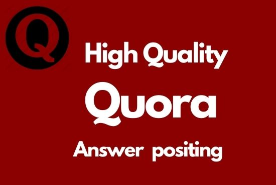 I Will your website 5 high quality Quora answers