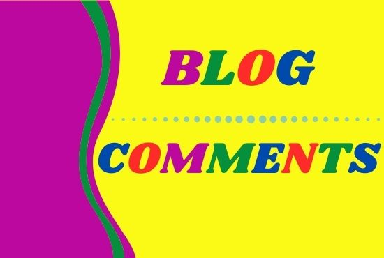 I will create 50 Blog Comments on Unique Domain With High DA PA