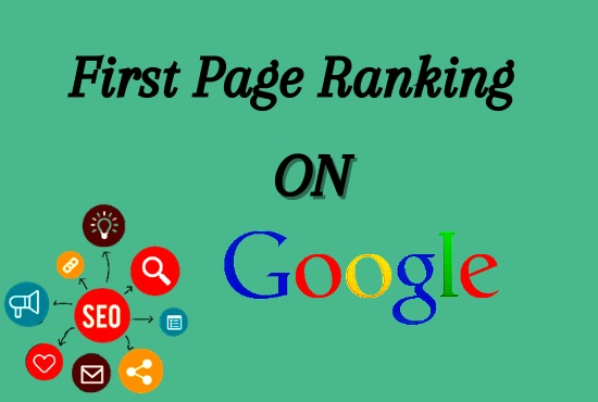 I will provide rank your website on google 1st page