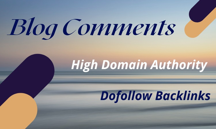 I Will Create 50 Niche Relevant Blog Comments DoFollow Backlinks