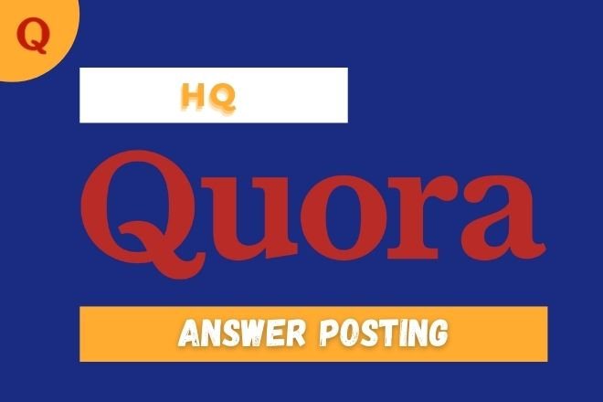 I will promote your website with real traffic by 3 unique Quora answers