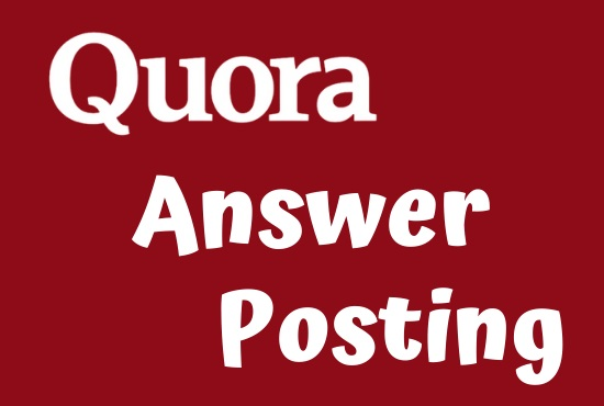 I Will Provide You 20 High Quality Quora Answer