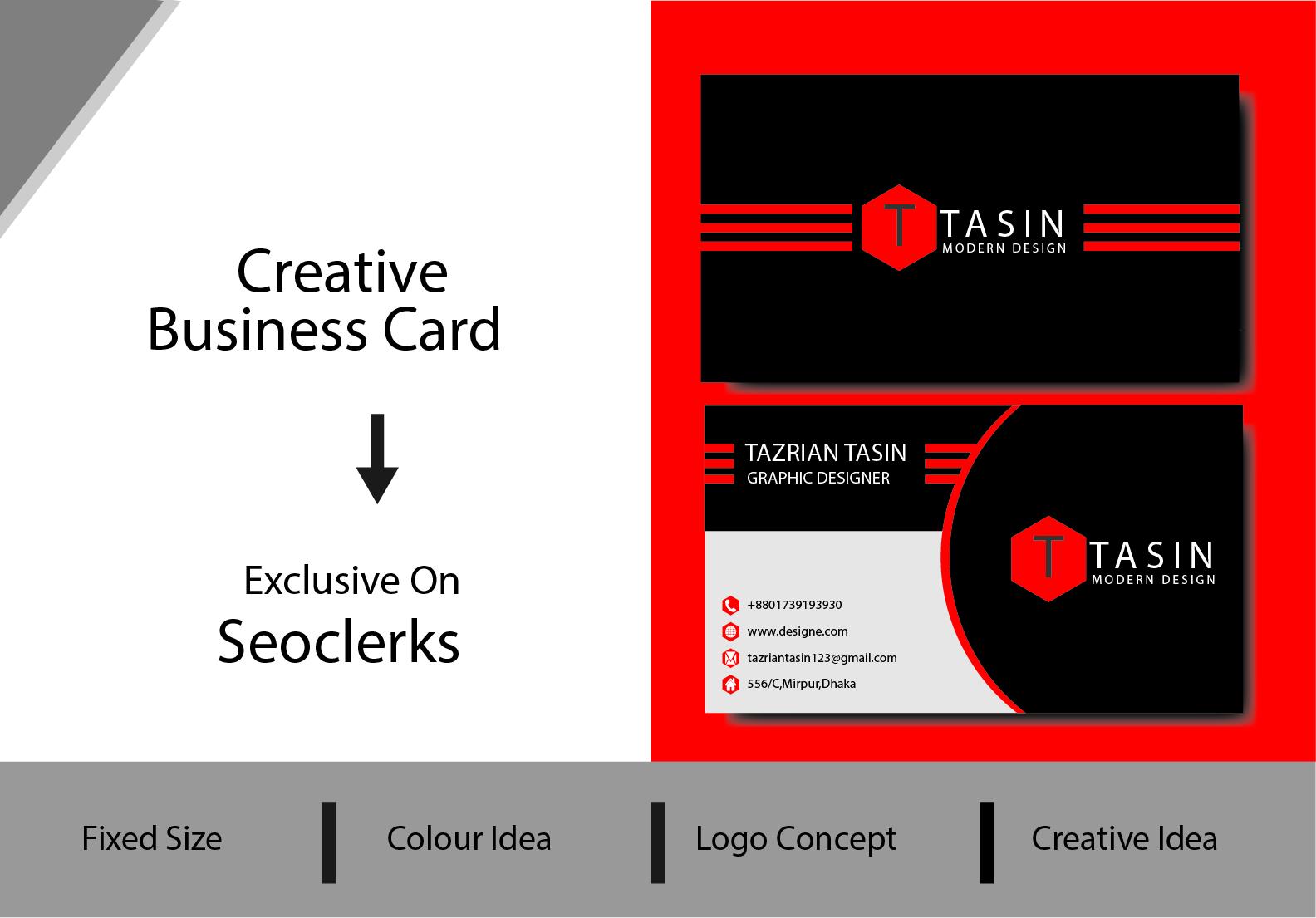I will design unique business cards