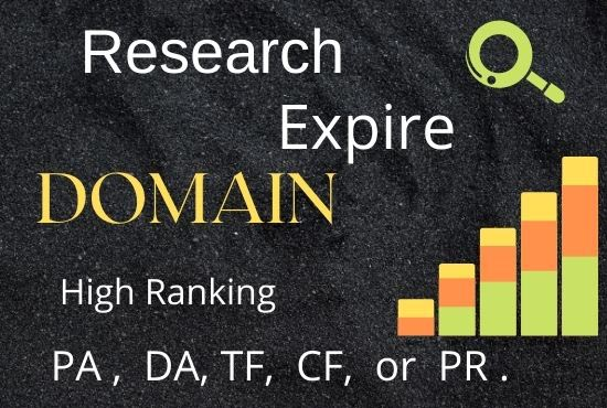 searching high ranking expire domain for you