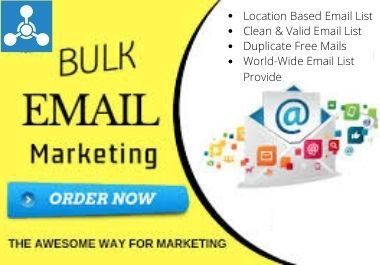 I Will Collect Niche Targeted Bulk Email List