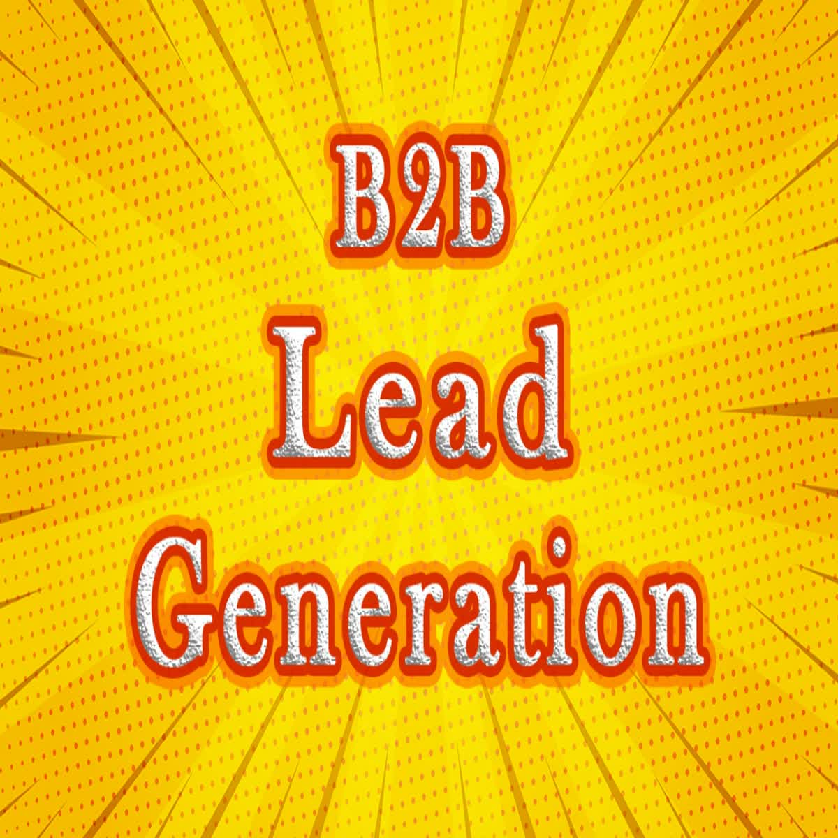 50 B2B Lead Generation from Linkedin & Web Research