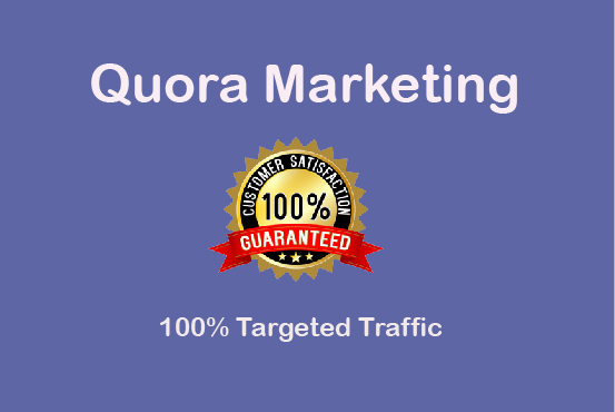Promote your Niche Relevant 10 Quora Answer for targeted traffic