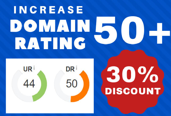 increase your website ahrefs DR to 50 plus