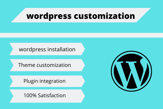 I will do any wordpress customization Gig SEO: