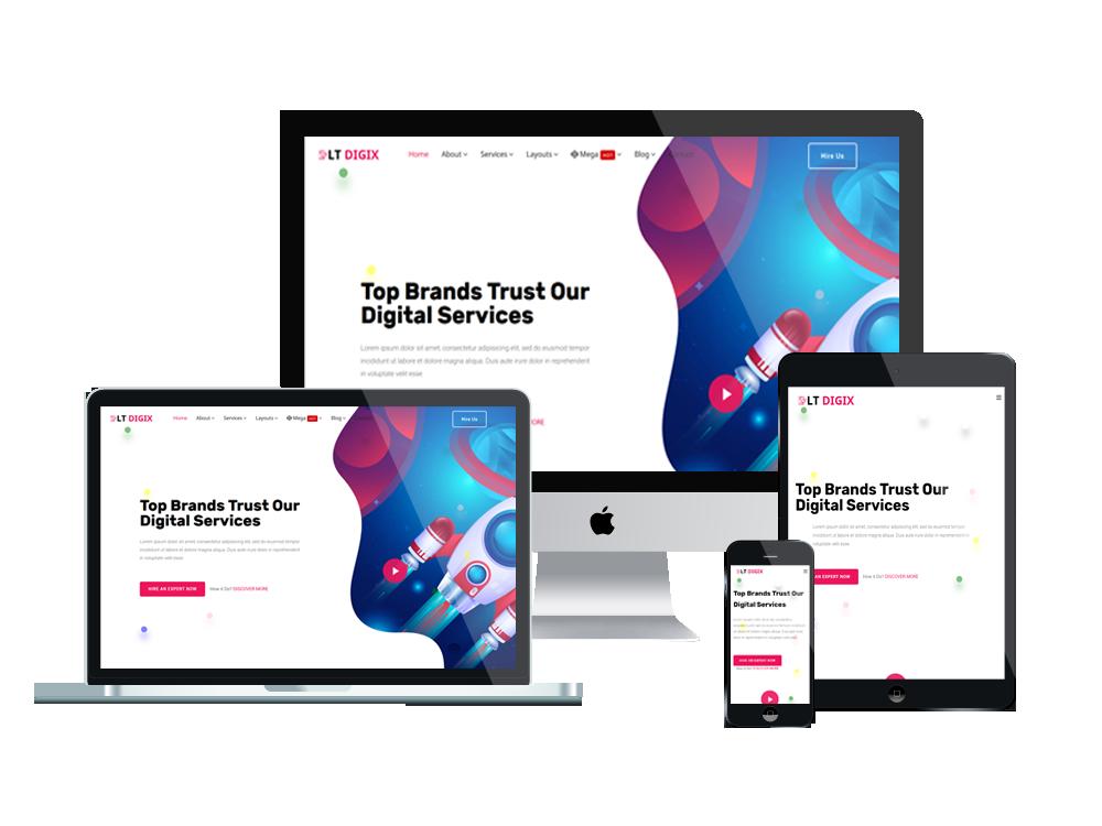 I will Design Responsive Professional WordPress website
