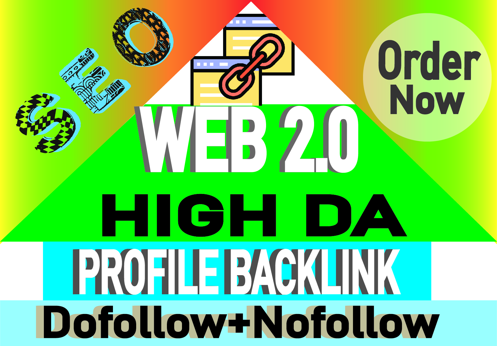 I will create over 100 web 2 0 profile backlinks manually