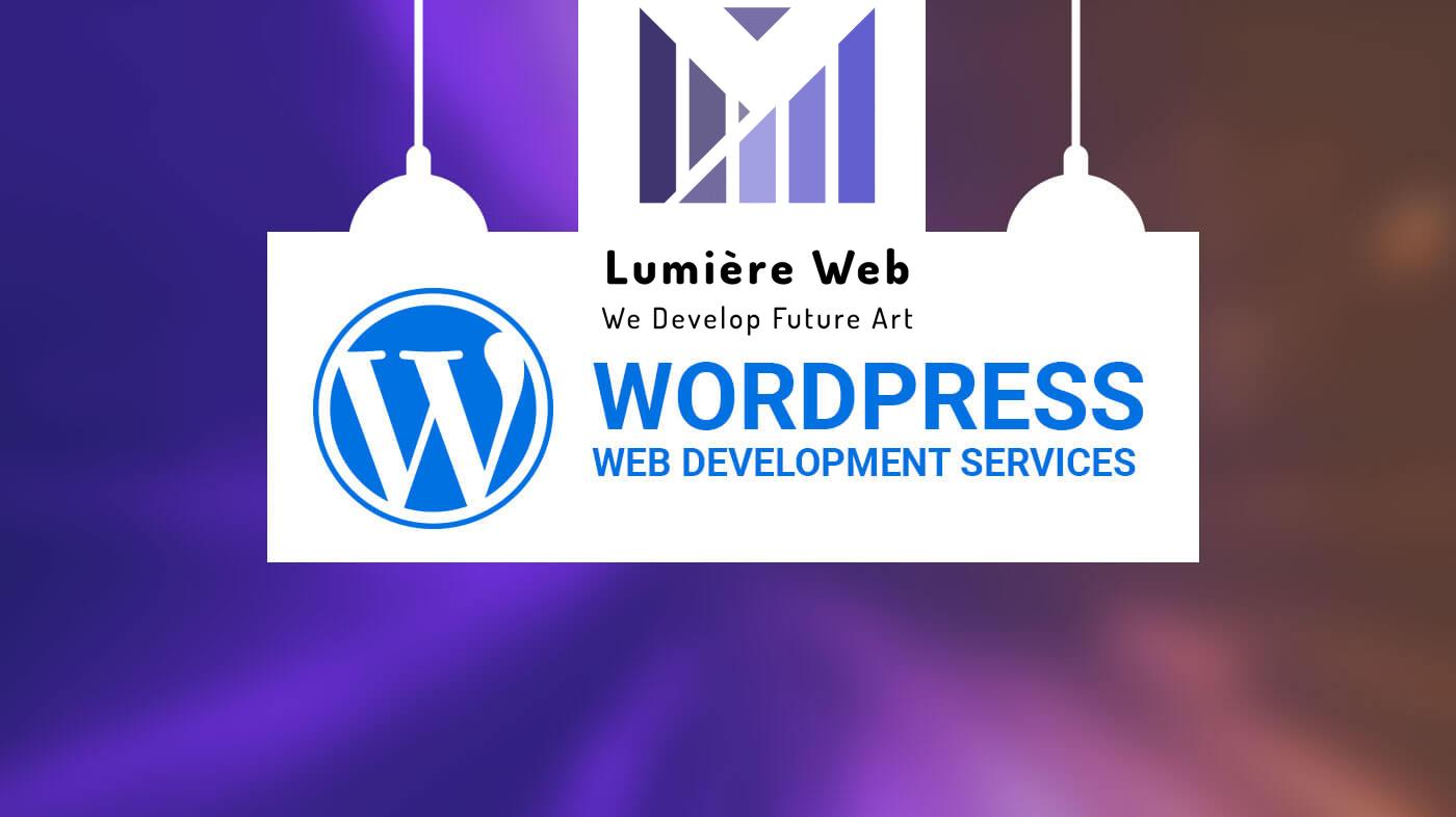 I will develop a website using wordpress