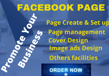 Create and set up SEO optimize FB Business page