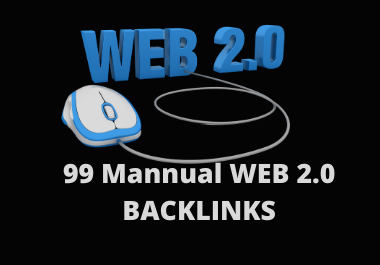 Manually create high authority contextual web 2 0 backlinks