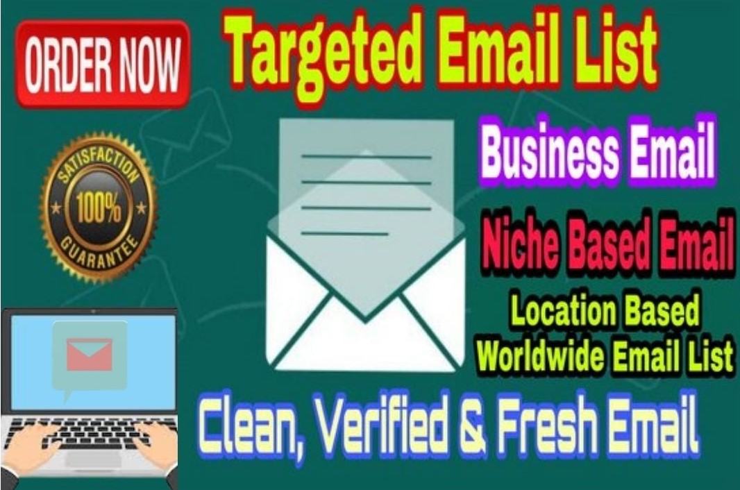 I can collect 1k niche based valid email list