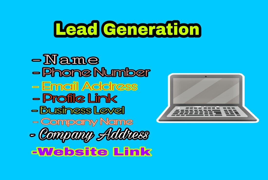 I can collect yellow page lead and Linkedin lead genaration