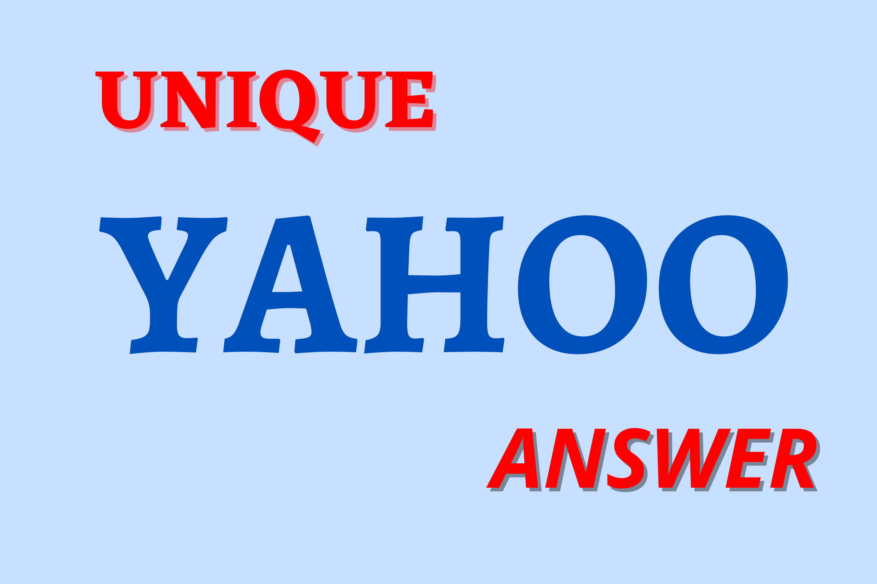 Guaranteed Targeted Traffic With 40 Unique Yahoo Answers For Your Website