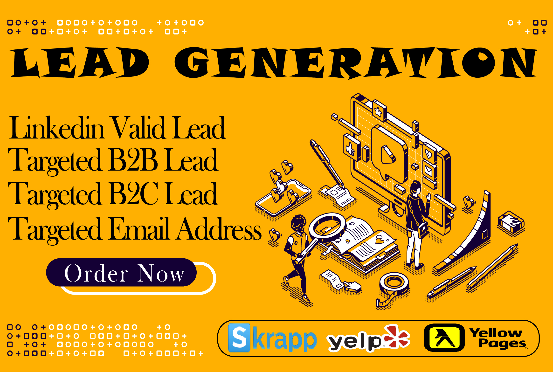 I will do Lead Generation for your business