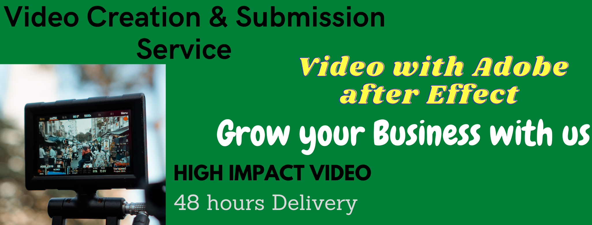 I will provide video creation and video submission on 20 high PR sites