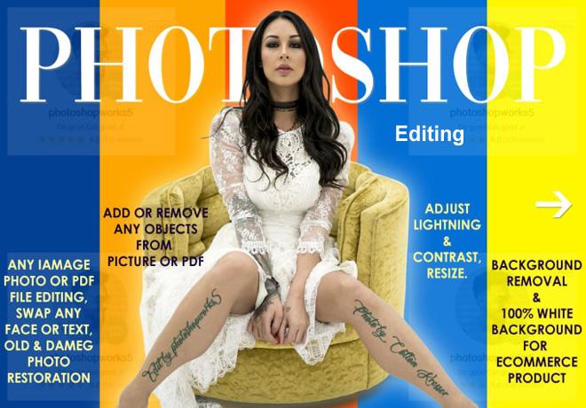 i will create Adobe photoshop editing and image retouching any manipulation