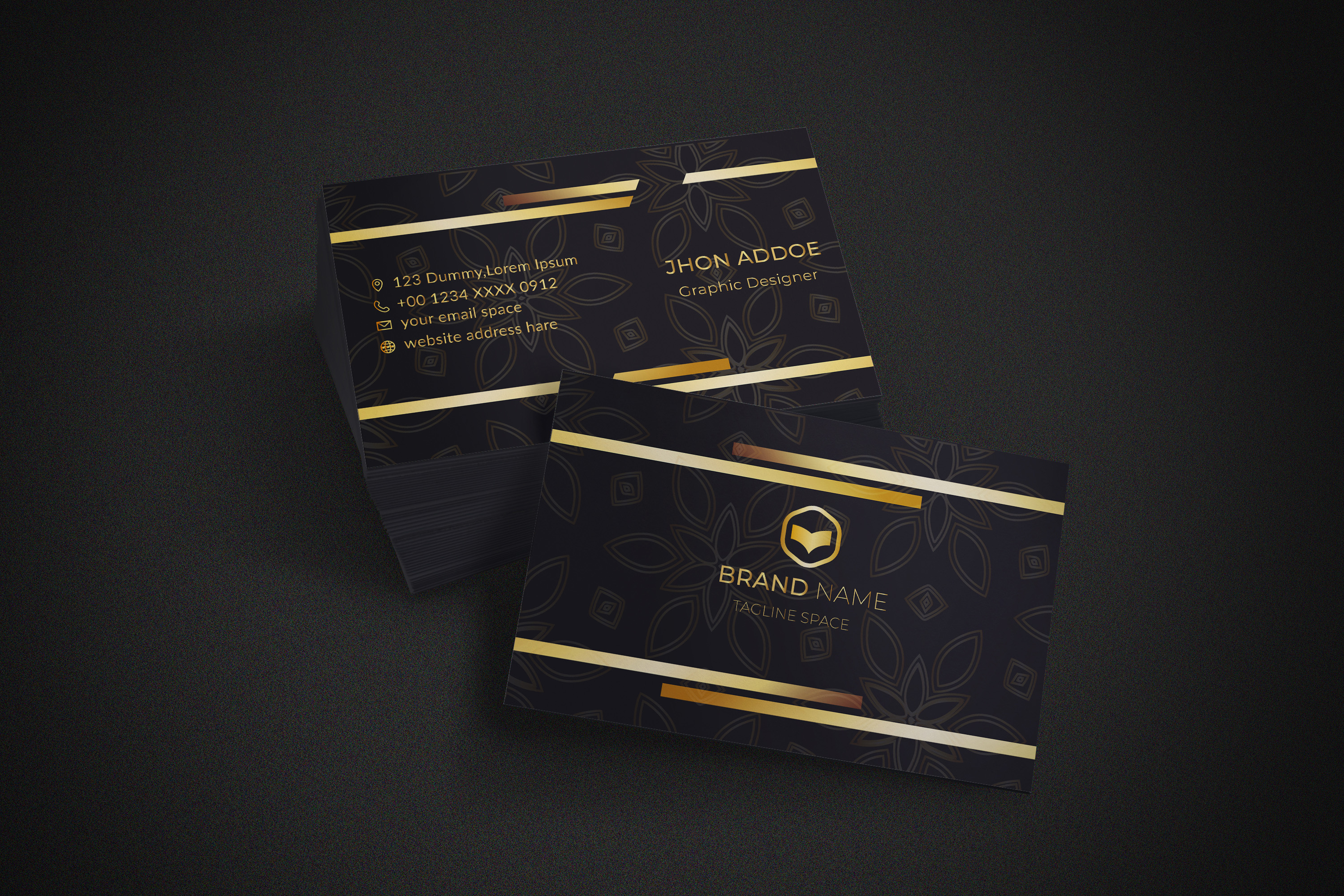 i will design premium business cards for you