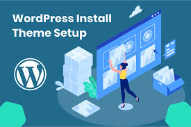 install wp, setup wordpress theme and demo import