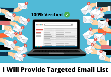 I will provide a list of 5000 targeted emails organically