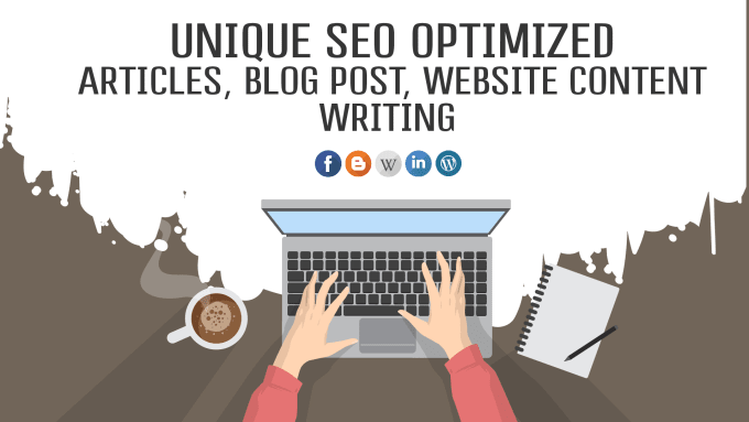 I will write 1000 words plus high quality, SEO optimized article or blog post