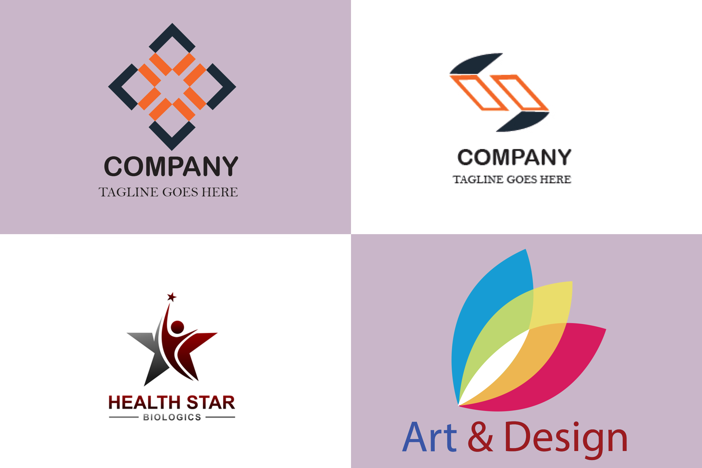 I will design a creative simple minimalist logo for your business or brand