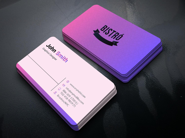 I will create a professional & unique Business Card Design