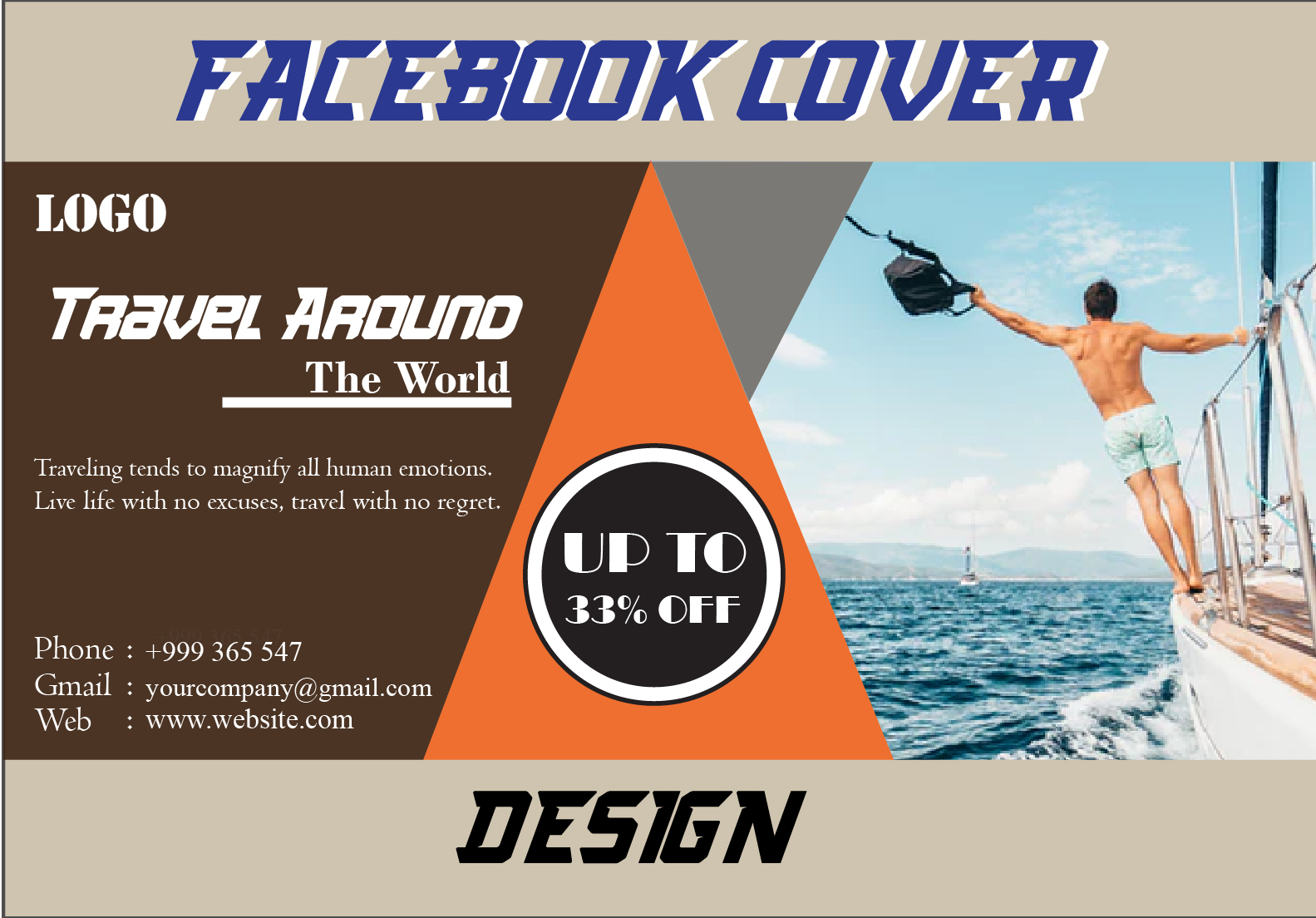 I will design amazing professional Facebook Cover/Banner photo design for you.