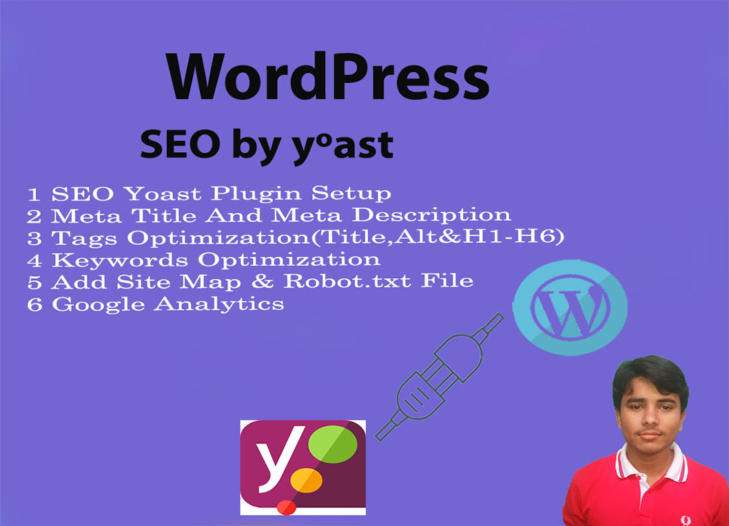 I will SEO optimization your wordpress website by yoast plugin