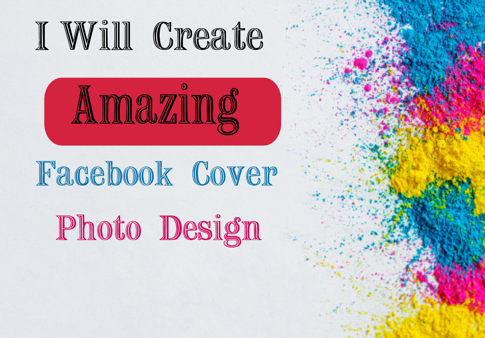 I will Design Professional Facebook Cover Photo Banner.