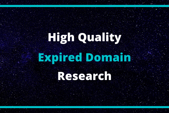 I Will Find 2 Profitable Expired Domain