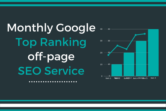 I Will Provide Best Monthly off-page SEO Service