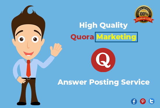 I will provide Guaranteed targeted Traffic with 10 High Quality Quora answers